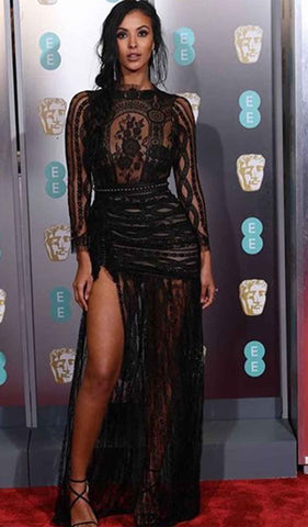 Maja Jama at the baftas 2019