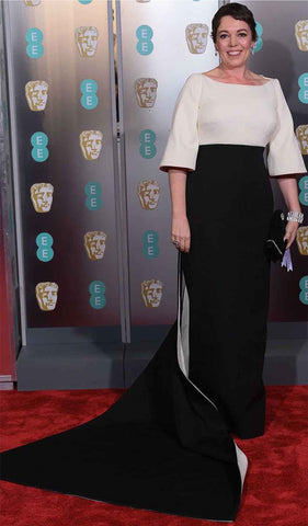 Olivia Coleman at the Baftas 2019