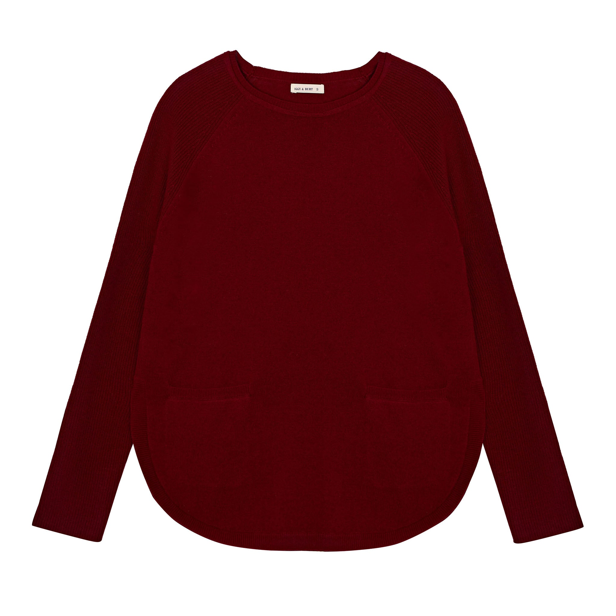 Pocket Curve Jumper in Plum