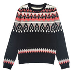 Women's Cotton Crew Neck Fairisle Jumper