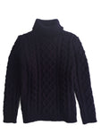 Womens Lambswool Burt Roll Neck Jumper
