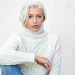 THE BURT ROLL NECK LAMBSWOOL JUMPER