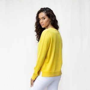 Women's Merino V Neck Jumper
