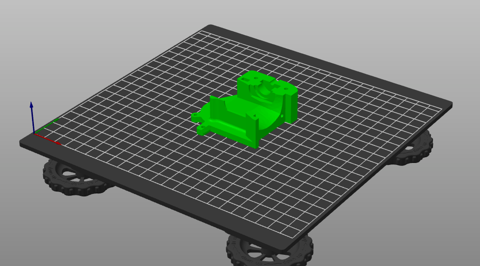 KAY3D hotend mount cover