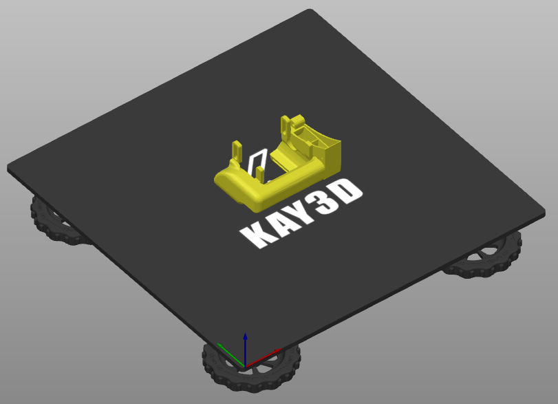 Download KAY3D hero me gen 5 4010 fan duct