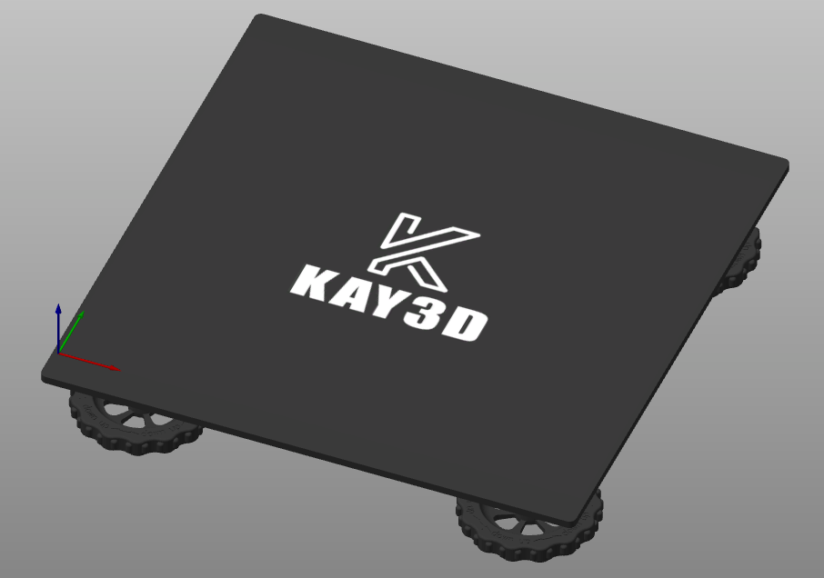 KAY3D heated bed image render