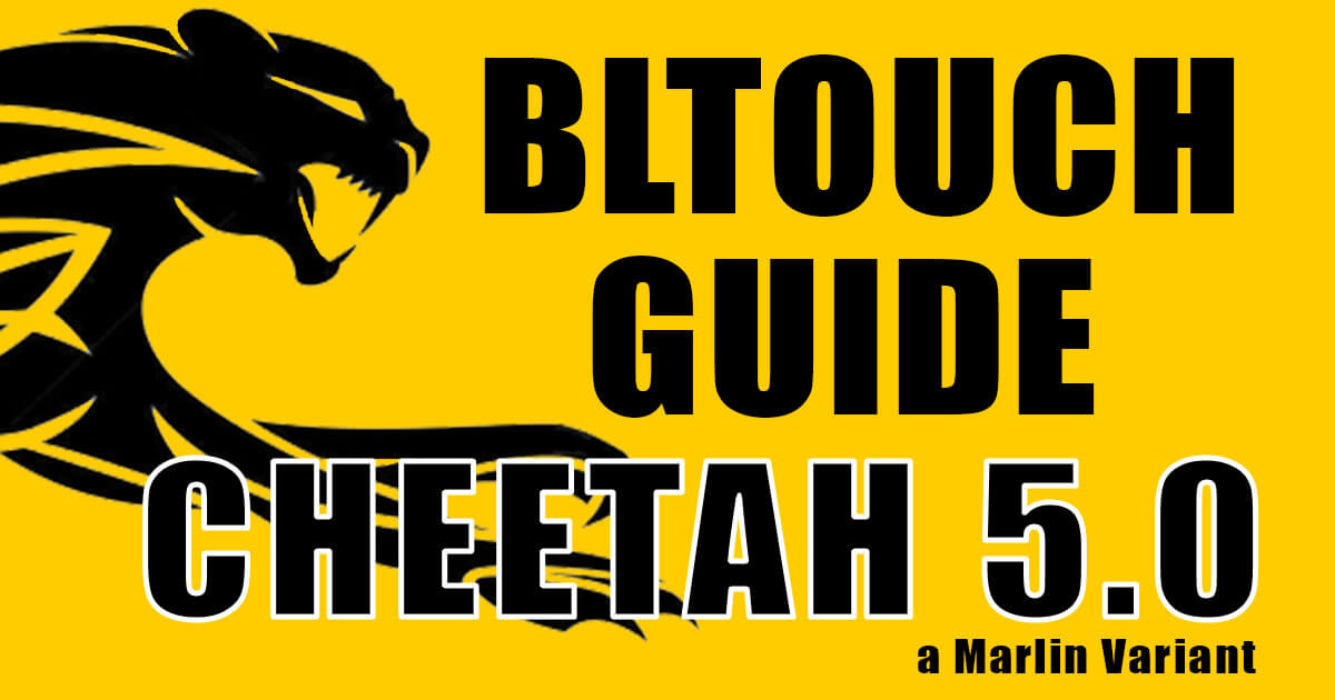kay3d labs bltouch guide based on cheetah 5.0