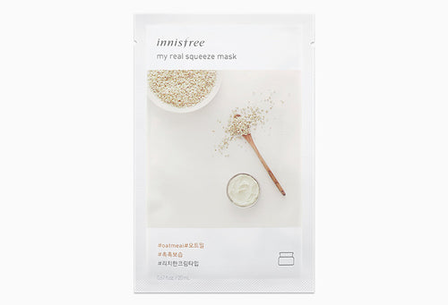 Innisfree My Real Squeeze Mask - Oatmeal 20ml