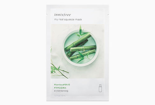 Innisfree My Real Squeeze Mask - Bamboo 20ml