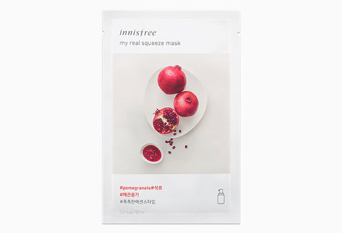 Innisfree My Real Squeeze Mask - Pomegranate 20ml