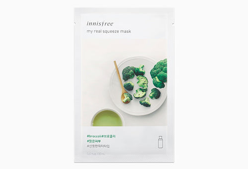 Innisfree My Real Squeeze Mask - Broccoli 20ml
