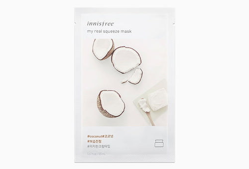 Innisfree My Real Squeeze Mask - Coconut 20ml