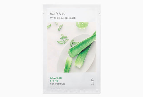 Innisfree My Real Squeeze Mask - Aloe 20ml