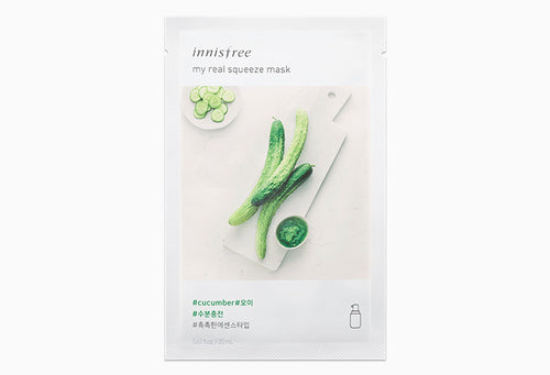 Innisfree My Real Squeeze Mask - Cucumber 20ml
