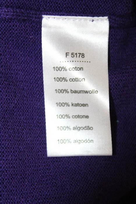 Cotton Mens Neck Purple Lacoste Size Sweater Linda Over Pull V 6 ED2YHW9I