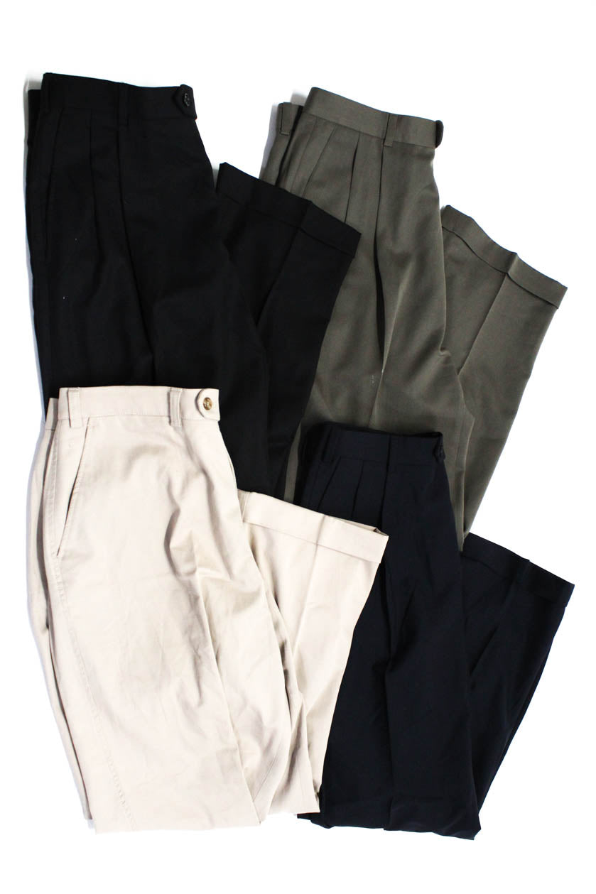 hot products the latest factory price 346 Brooks Brothers Hiltl Zanella Mens Dress Pants Multi Colored Size 35  Lot 4
