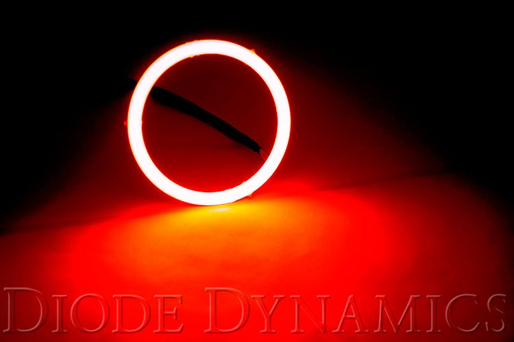 HD LED Red Halo Rings (pair)