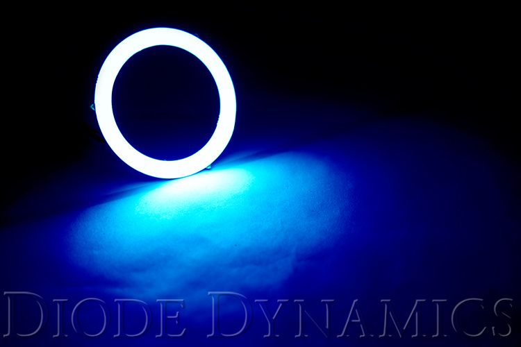 HD LED Blue Halo Rings (pair)