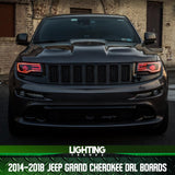 2014-2018 Jeep Grand Cherokee DRL Boards