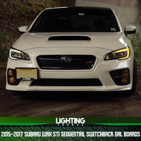 2015-2017 Subaru WRX STI Sequential Switchback Drl Boards