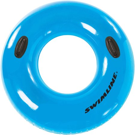 Swimline Water-Park Style Tube Ring with Handle