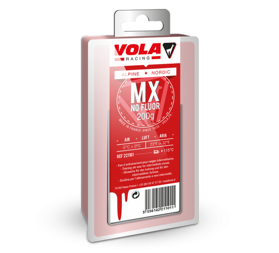 Vola Racing Wax MX Red