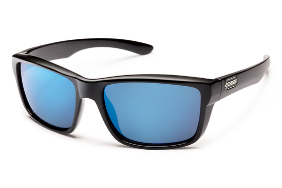 Suncloud MAYOR SC BLACK / BLUE MIRROR