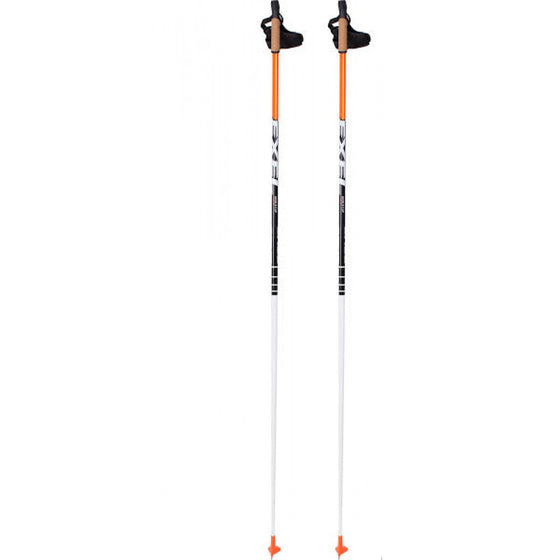 Exel World Cup 100% high-modulus carbon race poles, 175cm Kits