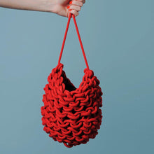 Anne Handmade Bucket Bag Red  (Various Colors)