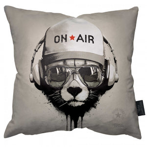 Late Night Dj Pillow