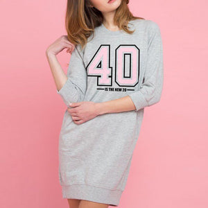 40 Is The New 20 Dress