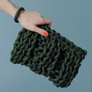 Handmade Braided Clutch