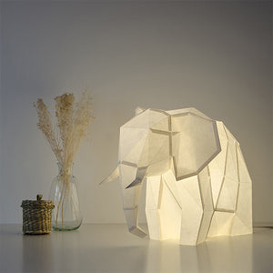 Big Elephant Paper Lamps