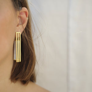 Anchor Earrings by Talar Manoukian