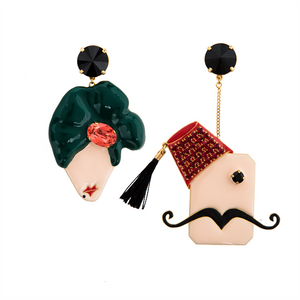Abu Reda and Em Reda Long Earrings