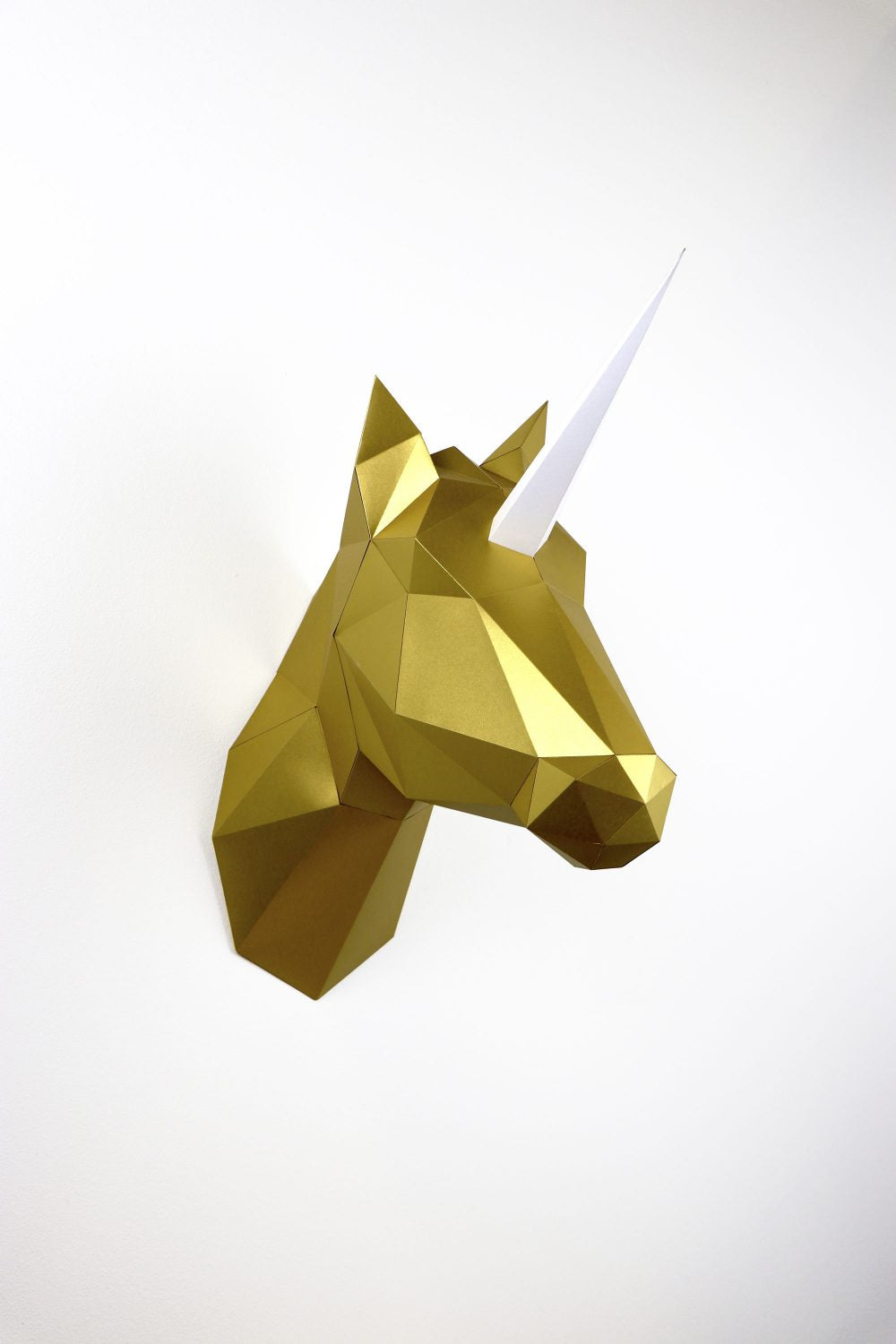 Paper Horse-Unicorn in Satin Gold Totem Kit