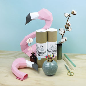 Paper Flamingo Kit