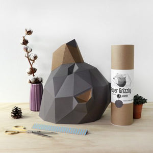 Paper Grizzly Totem Kit