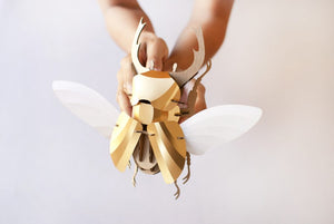 Paper Beetle Kit in Gold Leaf Metallic