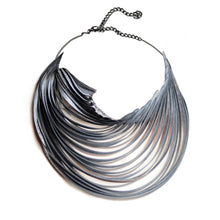 The Flow Upcycled Necklace in Silver