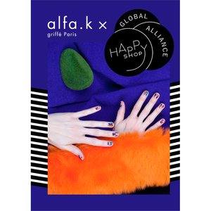 AK x Happy Shop nail patches