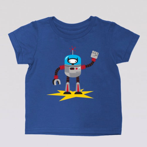 Ninja Kitty Robot tee