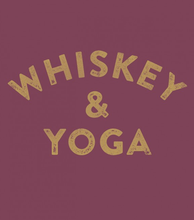 Whiskey & Yoga tee