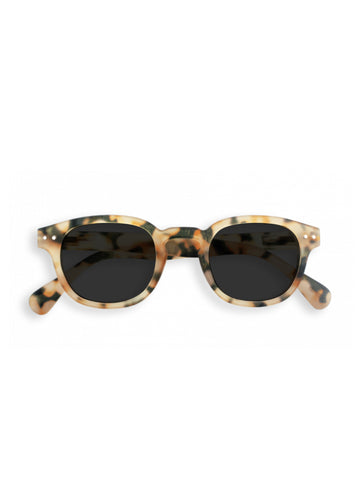 Izipizi Model C Sunglasses in Light Tortoise