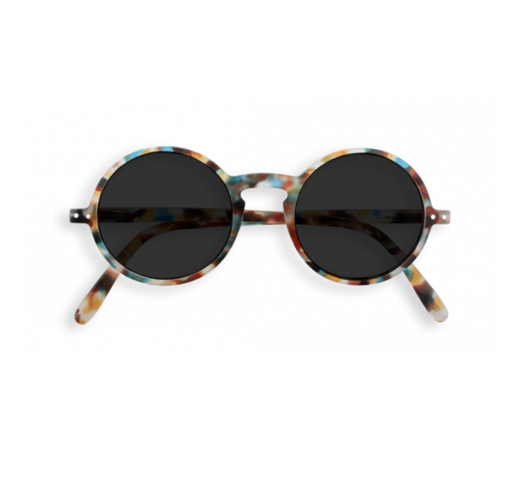 Izipizi Model G Sun Glasses in Blue Tortoise