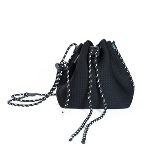 The Billie Bucket Bag (Black)