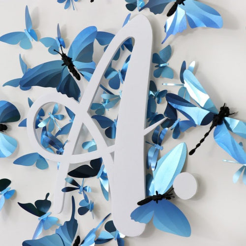 Paper Butterfly Collection Kit in Azure Blue