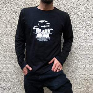 Here for You Long Sleeve Tee by Zeina Abi Rached for Oddfish