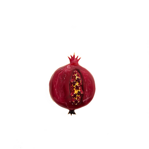 Pomegranate Brooch by Elsa O