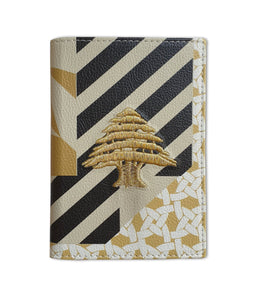 Pattern & Print Passport Holder by Rana Salam